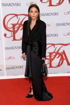 Mary Kate Olsen in The Row attends the 2012 #CFDA Fashion Awards