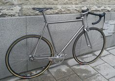 merlin titanium fixed gear with horizontal dropouts