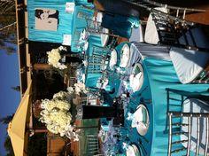Tiffany's bridal shower decor