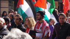 Hoy sábado los palestinos residentes en Chile y sus descendientes se reunieron para decir No a la guerra en Franja de Gaza.