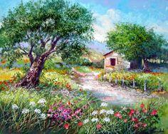 Spring Wildflowers ~ Francis Mangialardi
