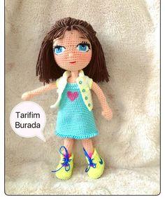 Crochet mm Head lı magic ring double forcepins one, 1 . Crochet Dolls Free Patterns, Amigurumi Patterns, Amigurumi Doll, Free Crochet, Sheep Tattoo, Knitted Dolls, Brick Stitch, Crochet Animals, Hello Kitty