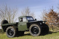 Land Rover Series 2 forest rover