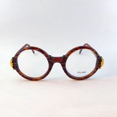 81c510d30e4 CLASS Made in Italy  class  vintage  round  glasses  roundglasses   vintagestyle  brownglasses