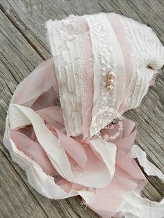 Rosewood Newborn Baby Bonnet , Vintage Style Photography Prop , Newborn  Photos , Whimsical