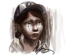 The Walking Dead Game Clementine | Clementine Crying