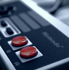 #Nintendo NES controller. Old school! See More at https://www.facebook.com/iloveoldschoolgames