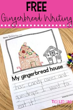 Making Gingerbread Houses in the Classroom • Tickled Pink in Primary