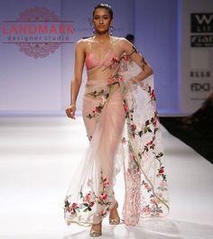 #Floral Crush on #runway..!! #Landmarkdesignerstudio #Panchkula #Elante #Chandigarh #NorthCountryMall #Mohali