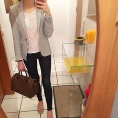 16 Outfits to be the most attractive in your office - 16 Outfits to be the most attractive in your office Best Picture For outfits invernali For Your T - Crazy Outfits, Warm Outfits, Preppy Outfits, Simple Outfits, Stylish Outfits, Cool Outfits, Semi Formal Mujer, Ropa Semi Formal, Teenager Outfits