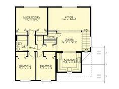 2nd Floor Plan, 035G-0023