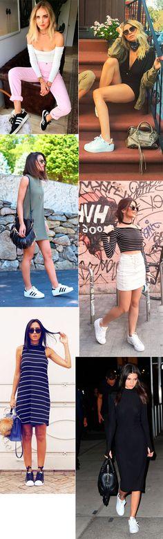 Look Jade Seba, Lollapalooza, blusa listrada, short jeans