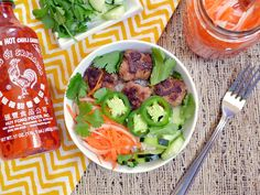 Lunch this week: Banh Mi Bowls