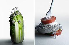 bejeweled veggies...Judy Casey - Torkil Gudnason - Still Life