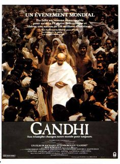 Gandhi est un film indo-britannique de Richard Attenborough sorti en 1982. Wikipédia