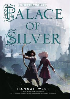 Today we're excited to celebrate the cover reveal for Palace of Silver by Hannah West, releasing April 2020 from Holiday House! Before we get to the cover, here's a note from the author: Hey, readers! Cool Books, Ya Books, I Love Books, Books To Read, Fantasy Book Covers, Fantasy Books, Hannah West, Book Cover Design, Book Recommendations