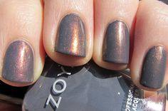 Zoya Kelly and CND Copper Shimmer