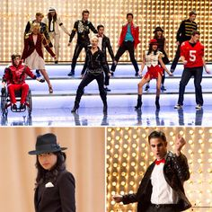 Glee: Years: With its sharp one-liners and catchy musical numbers, Glee became an instant hit with its 2009 debut. The TV show about glee kids brings the classic outsiders-in-high-school theme to the stage — and to iTunes. Michael Jackson, Glee Fashion, Glee Club, Chris Colfer, Cory Monteith, Before I Die, Lea Michele, Darren Criss, Adam Lambert