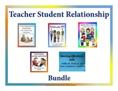 This teacher student relationship bundle includes 5 of our modules. This bundle could help you improve your relationship with your students throughout the school year. It could help you get to know your students more, be able to address their issues and concerns and learn how to handle them better.