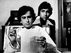 Shashi Kapoor and Amitabh Bachchan.