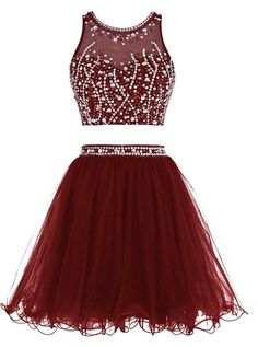 2016 Short Beading Homecoming Dress