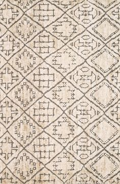 LOLOI 'Sahara' Wool & Jute Rug available at #Nordstrom