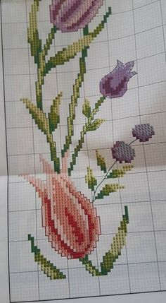 Cross Stitch Flowers, Carnations, Embroidery, Crochet, Poppies, Face Towel, Cross Stitch Embroidery, Towels, Scrappy Quilts
