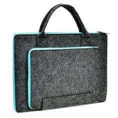 "Amazon.com: Unik Case Felt Laptop Sleeve Bag Case Cover for All 13"" 13-Inch Laptop Notebook / Macbook Pro / Macbook Unibody / Macbook Air / Ultrabook / Chromebook: Computers & Accessories"