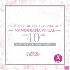 De acuerdo con el Breast Cancer Research Foundation http://liv.ctx.ly/ly1u66 #LuchemosJuntas #OctubreRosa #Prevención #PinkRibbons