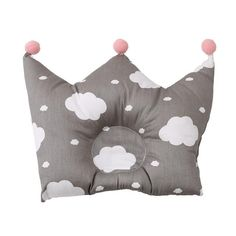 Newborn Baby Pillow ,Bomxy Organic Cotton Cartoon Pillow For Sleeping ,Baby Cute Crown Shape Pillows Washable Pillow For Months Baby (Fairy Tale) * Check this awesome product by going to the link at the image. (This is an affiliate link) Baby Pillows, Soft Pillows, Baby Bedding, Baby Sleep Aids, Baby Girl Items, Boy Girl Room, Baby Gadgets, Baby Fairy, Head Shapes