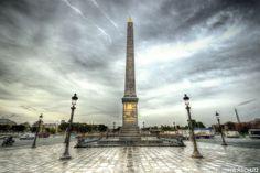 """Bonjour, toujours dans le thème """"Paris"""" : l'Obélisque Concorde :)"""