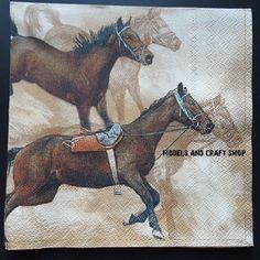 Hobby Shop, Craft Shop, Paper Napkins, Moose Art, Campaign, Horses, Models, Medium, Store