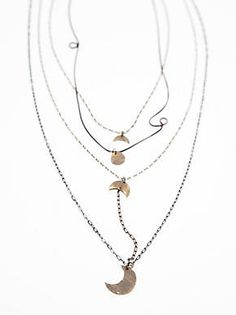 Free People Waterfalls Necklace, $38.00
