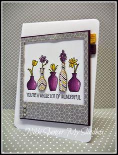 Nikki Spencer-My Sandbox: Vivid Vases.........