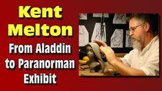 Kent Melton Sculpture Exhibit (Paranorman, Coraline, Disney)