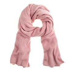 J.Crew - Chunky cashmere scarf...I want this in black and grey
