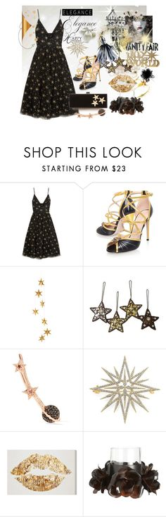 """""""Joy to the World"""" by pilpanher ❤ liked on Polyvore featuring Valentino, Gucci, Livingly, NOVICA, Aamaya by Priyanka, Vanity Fair, Adriana Orsini, Oliver Gal Artist Co., Jan Barboglio and Edie Parker"""