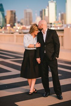 Dallas skyline portrait session.  © Stephanie Rose Photography