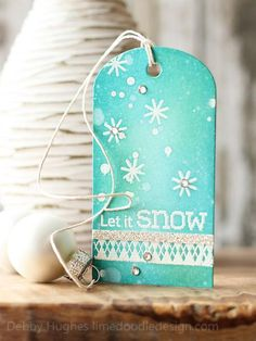 Let it snow by limedoodle - Cards and Paper Crafts at Splitcoaststampers