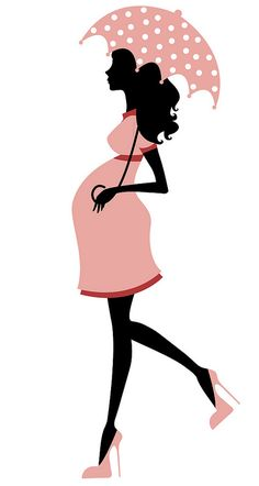 pregnant woman with umbrella - Pregnancy Photos Silhouette Png, Woman Silhouette, Cartoon Silhouette, Pregnancy Tips, Pregnancy Photos, Pregnancy Scrapbook, Cake Templates, Future Maman, Paint Party