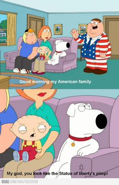 Stewie Griffin Strikes Again - Family Guy Family Guy Funny, Family Guy Quotes, Family Humor, Funny Animal Pictures, Best Funny Pictures, Funny Animals, Griffin Family, Free Poster Printables, Peter Griffin