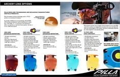Archery Lens Options - #pilla #pillasport #pillasportcanada #pillaarchery