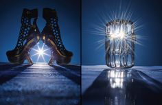 Light the way. These are fabulous. Photo by Mitch Feinberg.