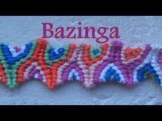 Pulsera de Hilo: Bazinga - YouTube