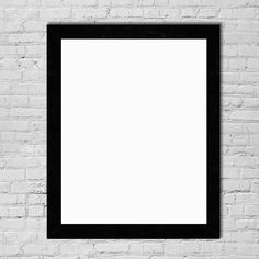 "Inked and Screened - 18x24"" Custom Black Print Frame - Poster Frame - Picture Frame - Wall frame"