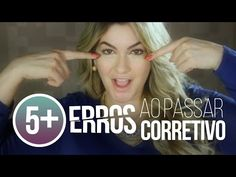 5+ ERROS AO PASSAR CORRETIVO POR ALICE SALAZAR - YouTube