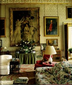 Chatsworth Drawing Room   A Perfect Example Of English Country Houseu2026