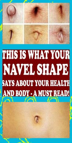 LOOK AT YOUR BELLY BUTTON SAYS ABOUT YOUR HEALTH