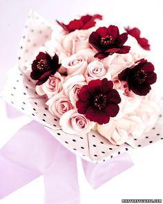 polka-dot bouquet cuff