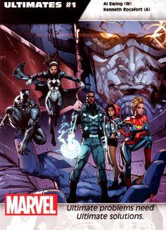 Marvel annonce une tonne de nouvelles séries et d'équipes créatives pour All-New Marvel | COMICSBLOG.fr